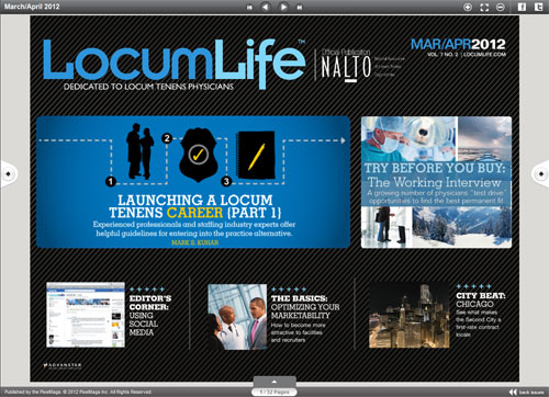 LocumLife Web Reader